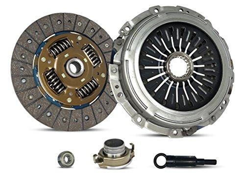 Clutch Kit Works With Subaru Impreza Legacy Wrx Sti Limited Special Edition Gt spec.B Wagon Sedan 2.5L H4 GAS DOHC Turbocharged (EJ257; 6 ()