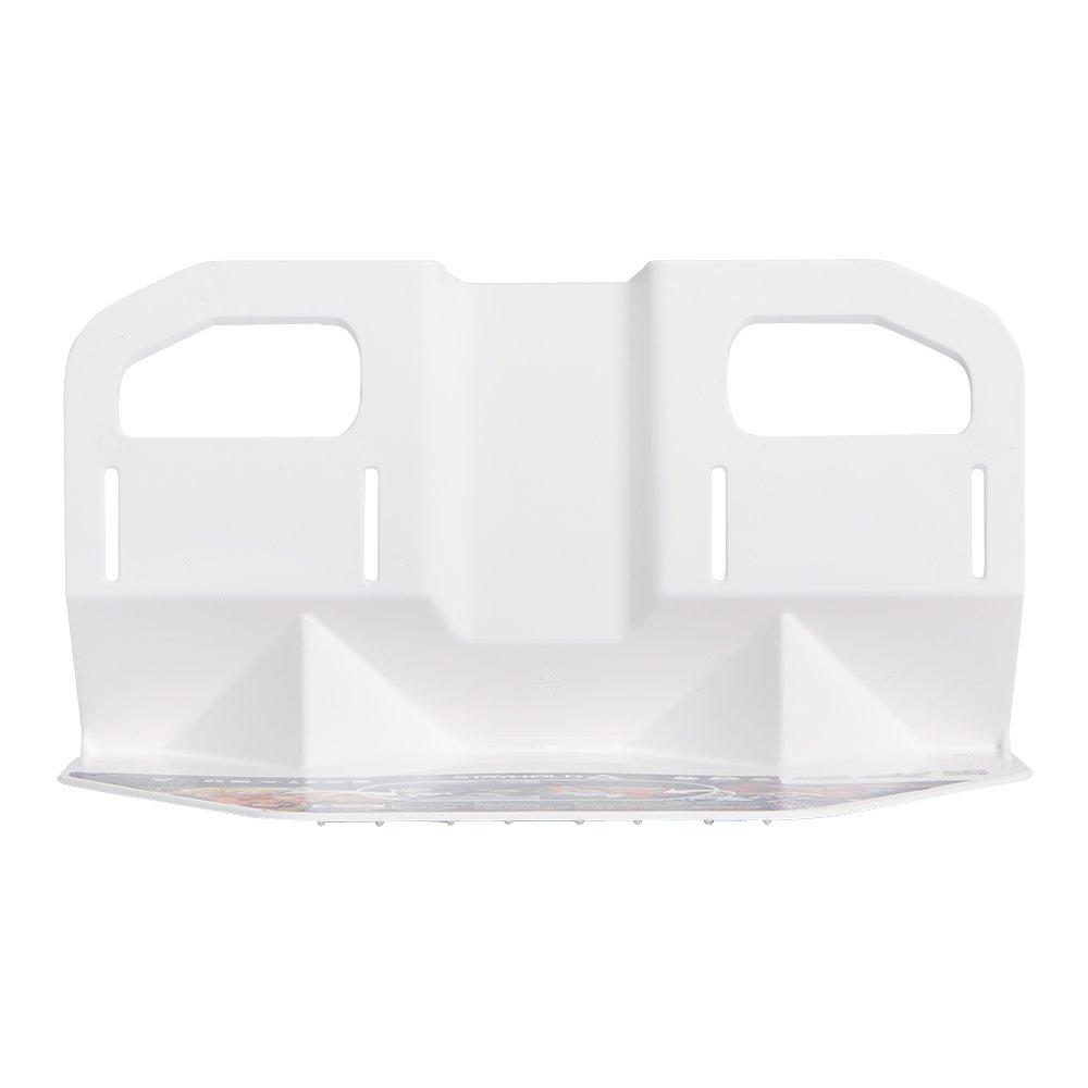 Stayhold STA-30021-AMS White Sidekick Cargo Grips Carpets Rubber Liners | Car Trunk Organizer Auto, SUV, Minivan & Boats