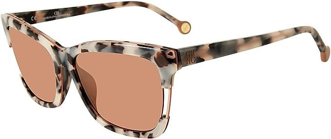 Carolina Herrera Gafas de Sol SHE752569BBX (Diametro 56 mm), 9bbx (9bbx), 56 Unisex-Adult: Amazon.es: Ropa y accesorios