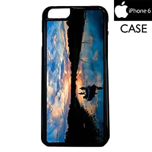 Fishing Scenic Apple iPhone 6 PLASTIC cell phone Case / Cover Great Gift Idea