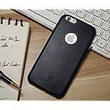 Excelsior Premium Ultrathin Leather Back Cover Case for Apple iPhone 6 Plus/6s Plus - Black