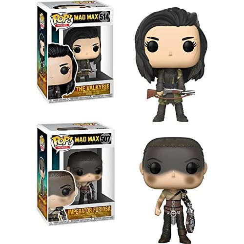 Funko POP! Mad Max Fury Road: Valkyrie + Furiosa – Stylized Movie Vinyl Figure Set NEW
