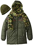 iXtreme Big Boys' Camo Printed with Hat and Scarf