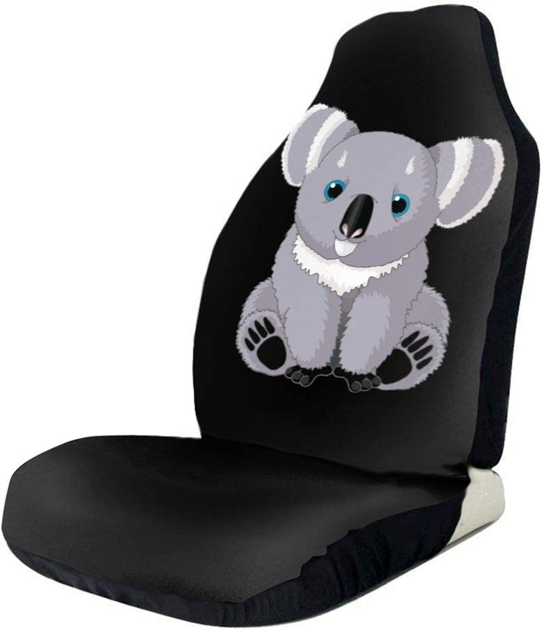 WUZZZZ Koala Car Seat Covers Protectors Universal Car Seat Accessories