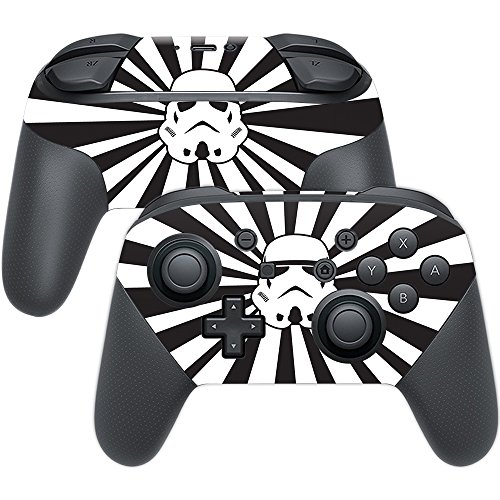 MightySkins Skin Compatible with Nintendo Switch Pro Controller - Star Rays | Protective, Durable, and Unique Vinyl Decal wrap Cover | Easy to Apply, Remove, and Change Styles | Made in The USA