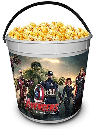ron Movie Theater Exclusive 170 oz Plastic Popcorn Tub ()