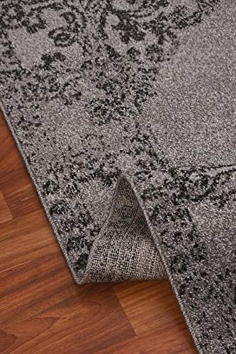 Msrugs Monaco Collection Gray Area Rug