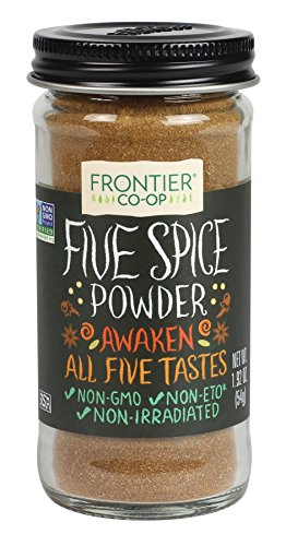 - Frontier Five Spice Powder, 1.92-Ounce Bottle
