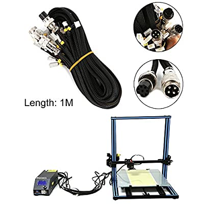 CCTREE Extension Cable Upgrade Kit for CR-10,10S,S4,S5 Creality 3D Printer