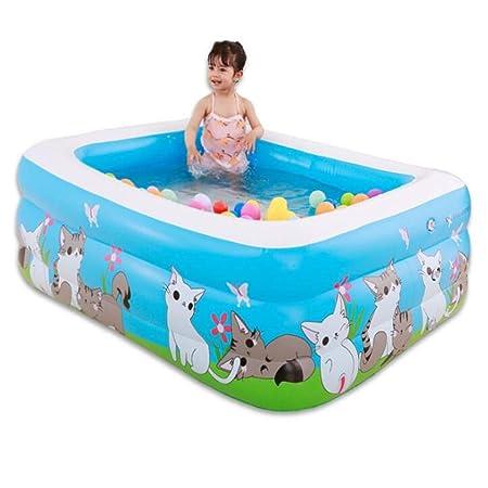 WXH Piscina Inflable Gigante, bañeras inflables de la Familia y ...