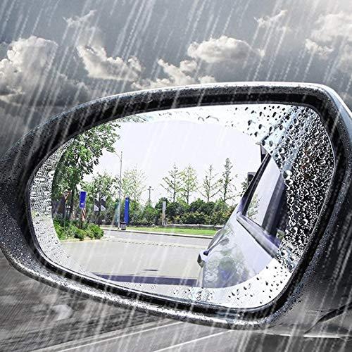 BianchiPatricia Car Rearview Mirror Protective Film Anti Fog Window Clear Rainproof Soft Film