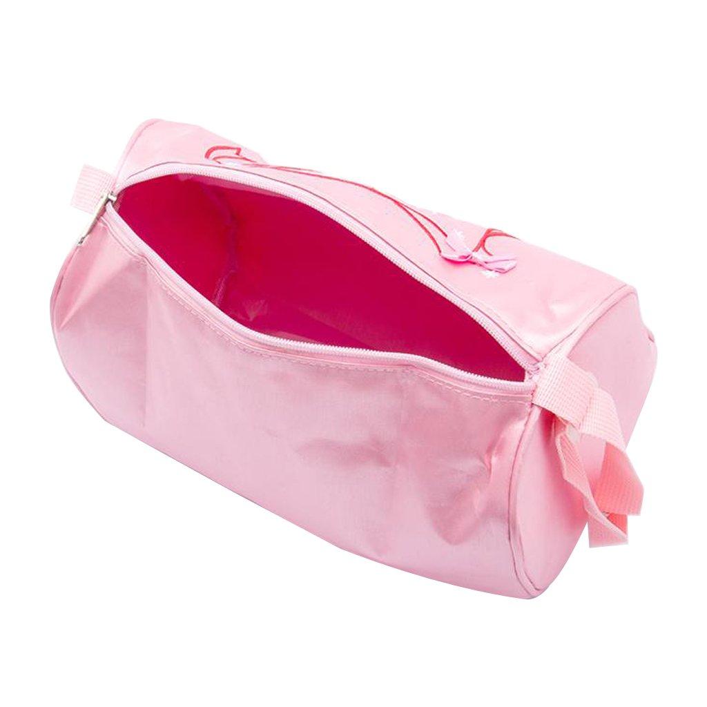 Ballet Bag Girls Handbag Pink Ballet Dance Shoe Bag Ballerina Bag Girls Bag Embroidery shoulder bag-DoGeek