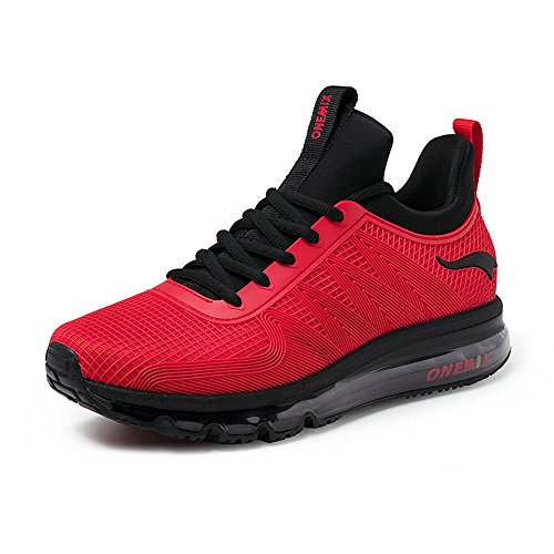 Respirante Chaussures Running Fitness Baskets Homme Gym ONEMIX Sneakers Outdoor Air Multisports Réseau Course de Sports x1qw8acHFU