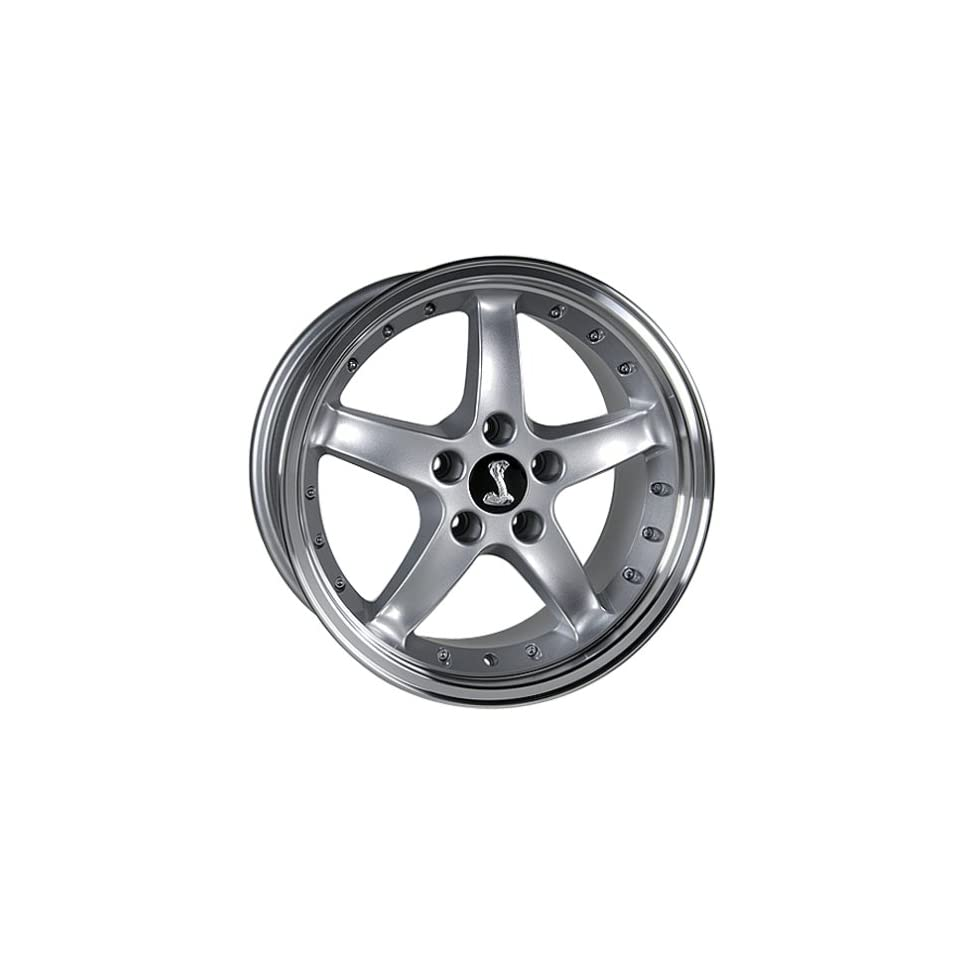 Ford Mustang Cobra Style Wheel Silver Wheels Rims 1994 1995 1996 1997 1998 1999 2000 2001 2002 2003 2004 2005 94 95 96 97 98 99 00 01 02 03 04 05