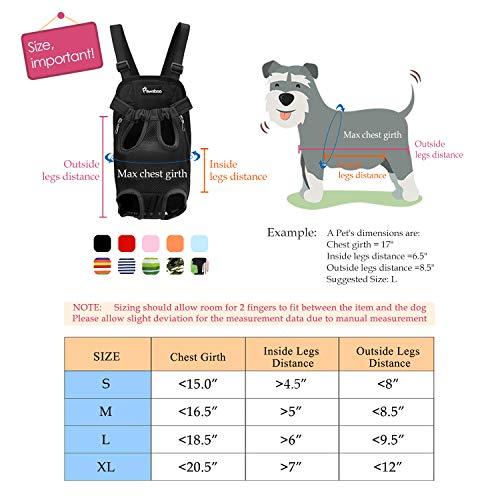 Pawaboo Pet Carrier Backpack Adjustable Pet Front Cat Dog Carrier