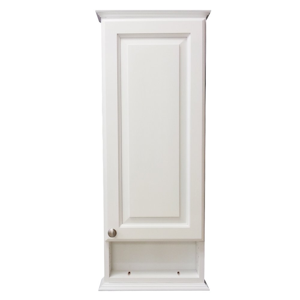 Wood Cabinets Direct 30'' Eldorado Series on The Wall Cabinet with 6'' Open Shelf 5.deep Inside