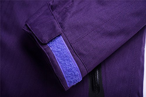 Giallo Dyf Impermeabile Donne Tuta Giacche Pantaloni Cerniera Viola Di Degli Cappotto Giacca Fym Uomini Antivento Sci Caldo TnxwpZUqHx