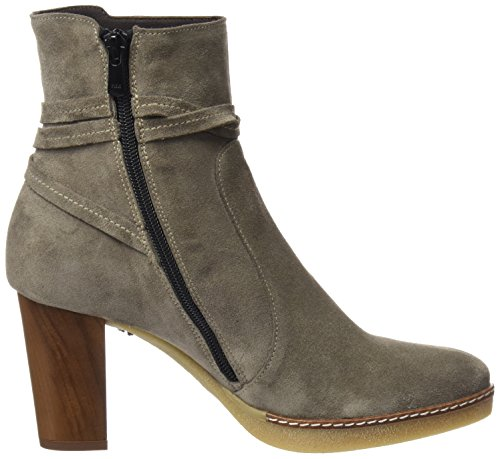 Gris 21 Bottines grey Femme 6400 Dchicas wFztwY