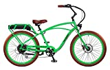 "Pedego Interceptor 26"" Classic Lime Green with Brown Balloon Package 48V 10Ah"
