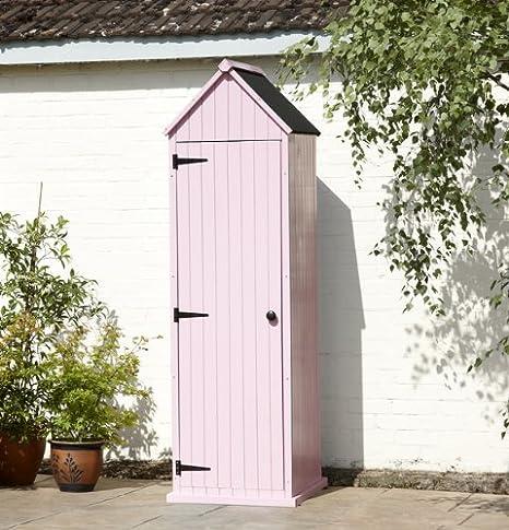 Caseta de jardín rosa