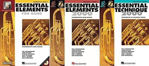 Essential Elements for Band - Baritone B.C., Books 1-3, 3 Book Set
