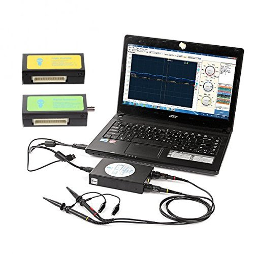 3 opinioni per SainSmart DDS140 portatile palmare basato su PC oscilloscopio digitale USB, 8