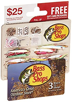 Bass Pro Shops Gift Card - With Gift Card Holder
