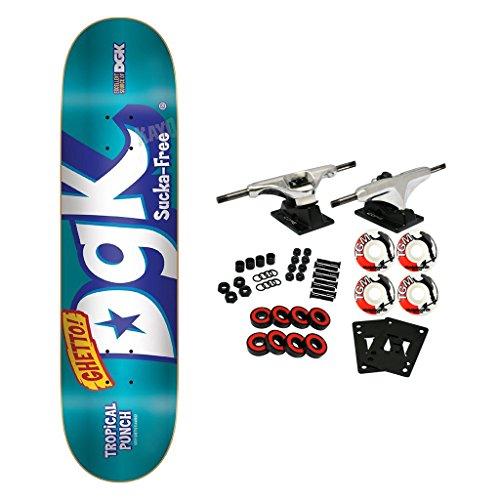DGK Skateboard Complete Mix Up Foil Blue 8.06