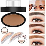 Sympath Natural Eyebrow Powder Makeup Brow Stamp Palette Delicated Shadow Definition (C)