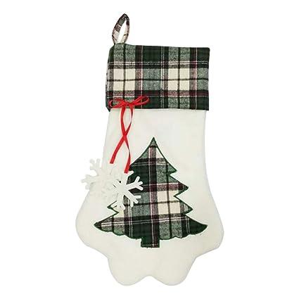 Doitsa Calcetines, Árboles Verdes, Clásico Exquisito, Árbol de Navidad Decorado Ventana Cabecera,