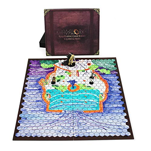 Khaosworks Role Playing Game Board: Vinyl Battle Mat Alternative- Dungeons and Dragons D&D DnD Pathfinder RPG play compatible - 27