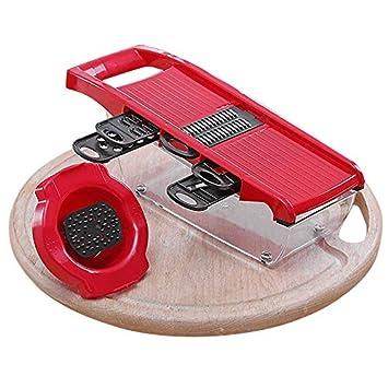 Feitian Kitchen Tools Limpiaparabrisas Protector de Mano Alambre de Papa de Acero Inoxidable multifunción Anti-