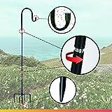 XDW-GIFTS Shepherd-Hooks for Bird-Feeder Lantern