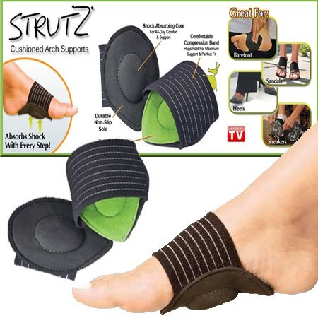 10b0da42ae Buy MagnusDeal® 1 Pair Foot Support Strutz Cushioned Arch Helps Decrease  Plantar Fasciitis Pain Online at Low Prices in India - Amazon.in