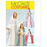 McCall's Patterns M5731 Size KID 3-4 5-6 7-8 Misses'/ Children's/ Girls' Princess Costumes, White by McCall's Patterns