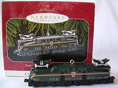 - Hallmark Keepsake Ornament Pennsylvania GG-1 Locomotive Lionel 1998