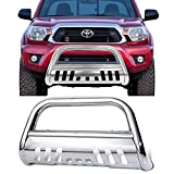 2007 toyota tacoma grill guard - Bull Bar Fits 2005-2015 Toyota Tacoma | Stainless Front Bumper Grill Grille Guard by IKON MOTORSPORTS | 2006 2007 2008 2009 2010 2011 2012 2013 2014