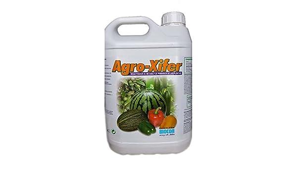 Agro Xifer - Bioestimulante natural. 5 Litros: Amazon.es: Jardín