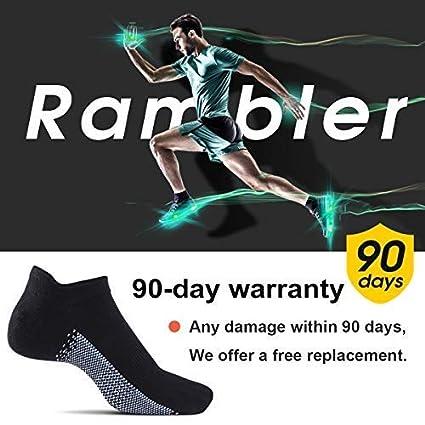 Mens Athletic Ankle Socks Mens Low Cut Running Sport Socks Comfort Cushioned Tab No Show Socks 3 Pairs