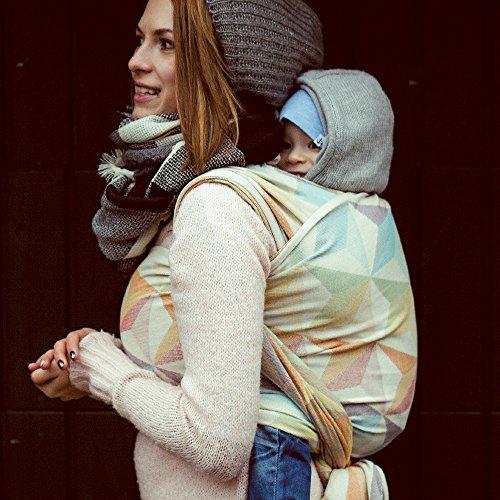 DIDYMOS Woven Wrap Baby Carrier Zephyr (Organic Cotton), Size 5 ()