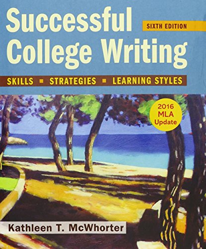 Successful College Writing 6e With 2016 Mla Update & Launch Pad (Six Month Access)