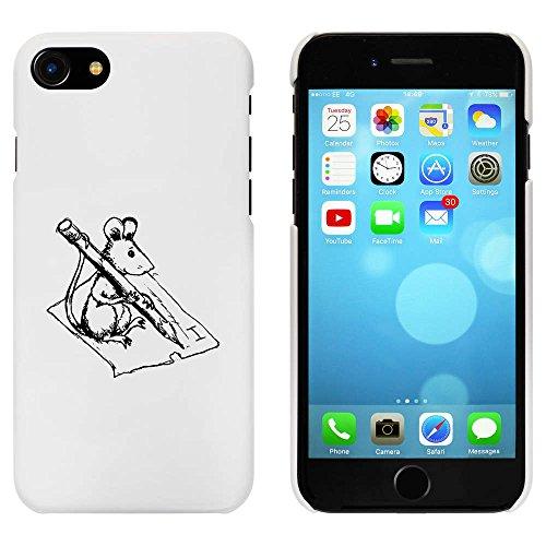 Weiß 'Maus Schreiben' Hülle für iPhone 7 (MC00062078)