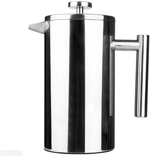 Jarras de café y té 1000ML French Press Cafetera Cafetera de espresso Pot Café jarra térmica