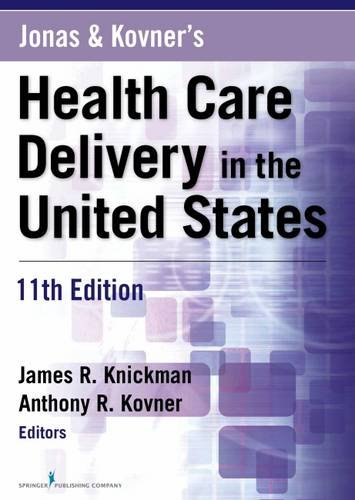 Jonas+...Health Care Delivery In U.S.