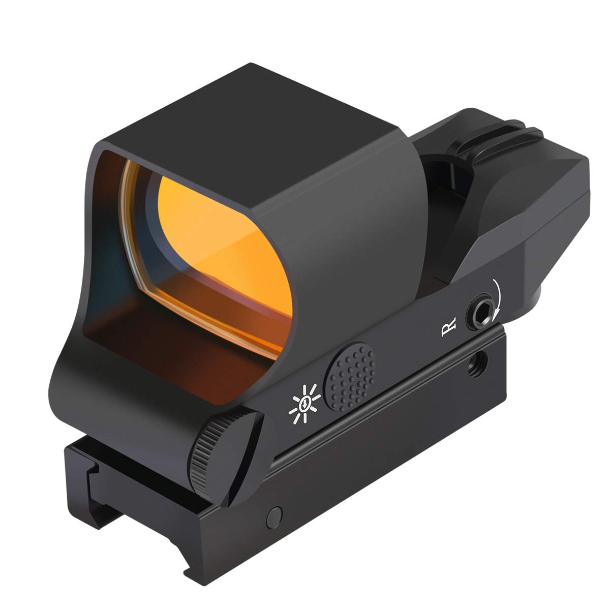 Feyachi RS-30 Reflex Sight, Multiple Reticle System Red Dot Sight with Picatinny Rail Mount, Absolute Co-Witness with Iron Sight by Feyachi