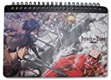 Great Eastern Entertainment Attack On Titan Spiral Notebook