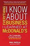 img - for Everything I Know About Business I Learned at McDonalds book / textbook / text book