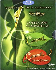 Pack Campanilla y el Tesoro Perdido + Campanilla [Blu-ray]