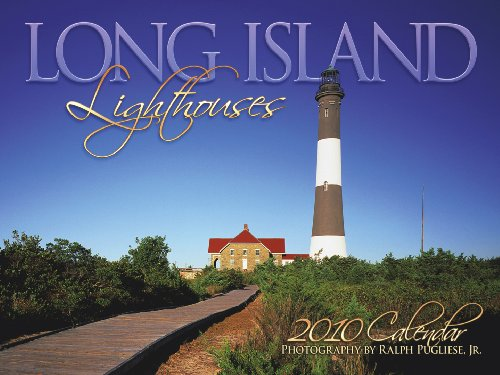 Long Island Lighthouses 2010 Wall Calendar
