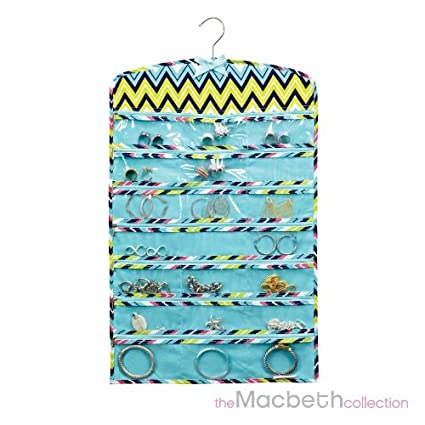 Amazoncom Macbeth collection Jewelry organizer zippered 42 pockets